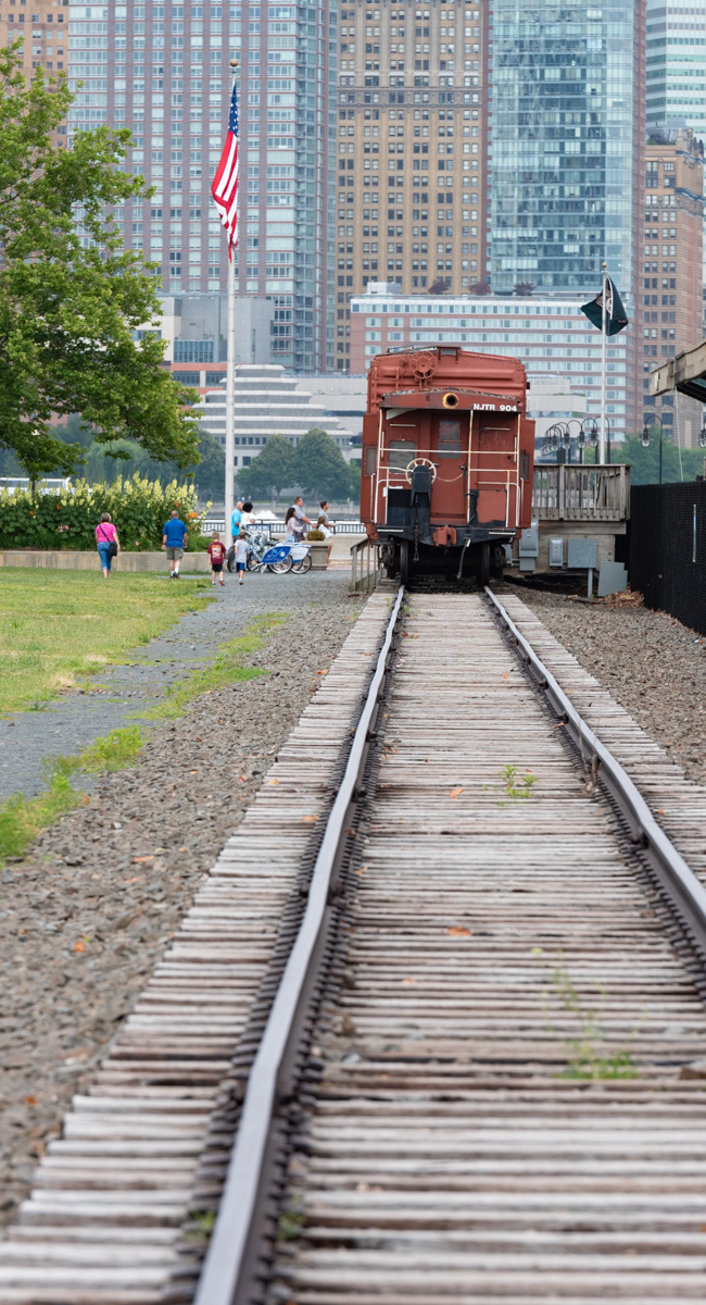 Lonely caboose