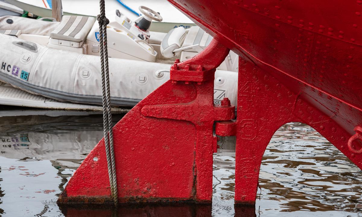 lightship rudder