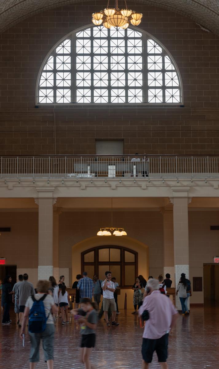 Main hall Ellis Island
