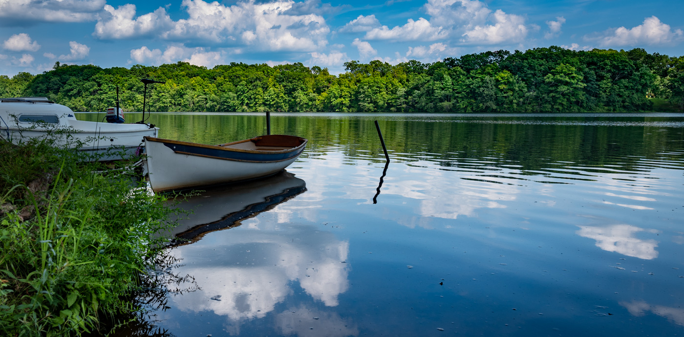 A perfect day on Aspinook Pond