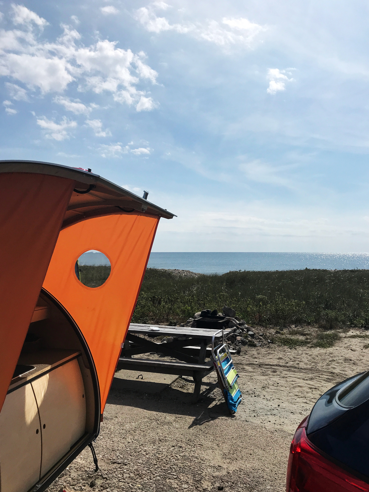 Camp on thebeach