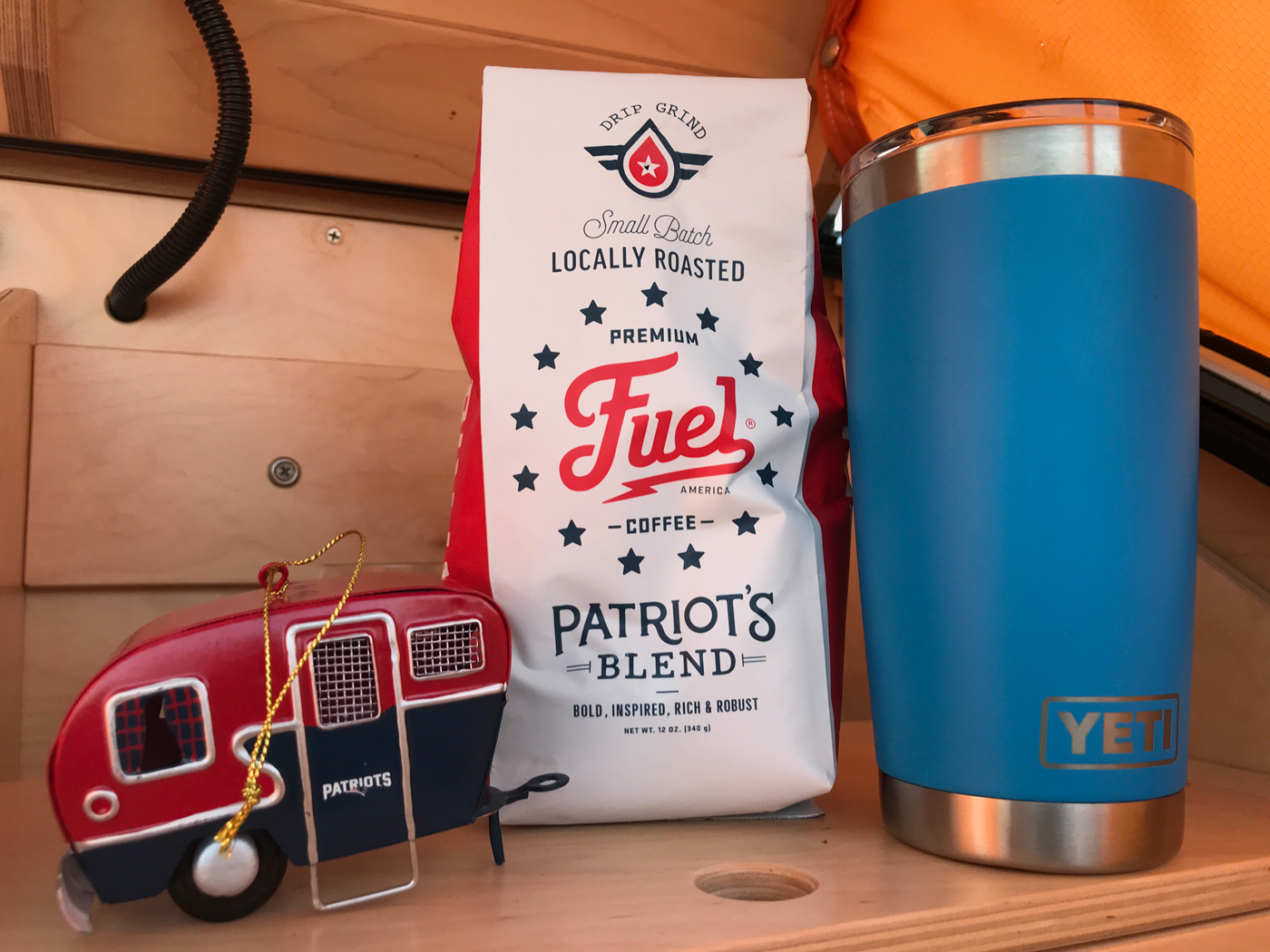 Yes, Patriots coffee