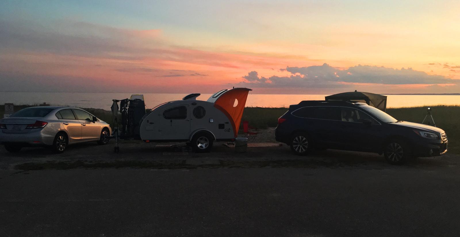 Sunset campsite!