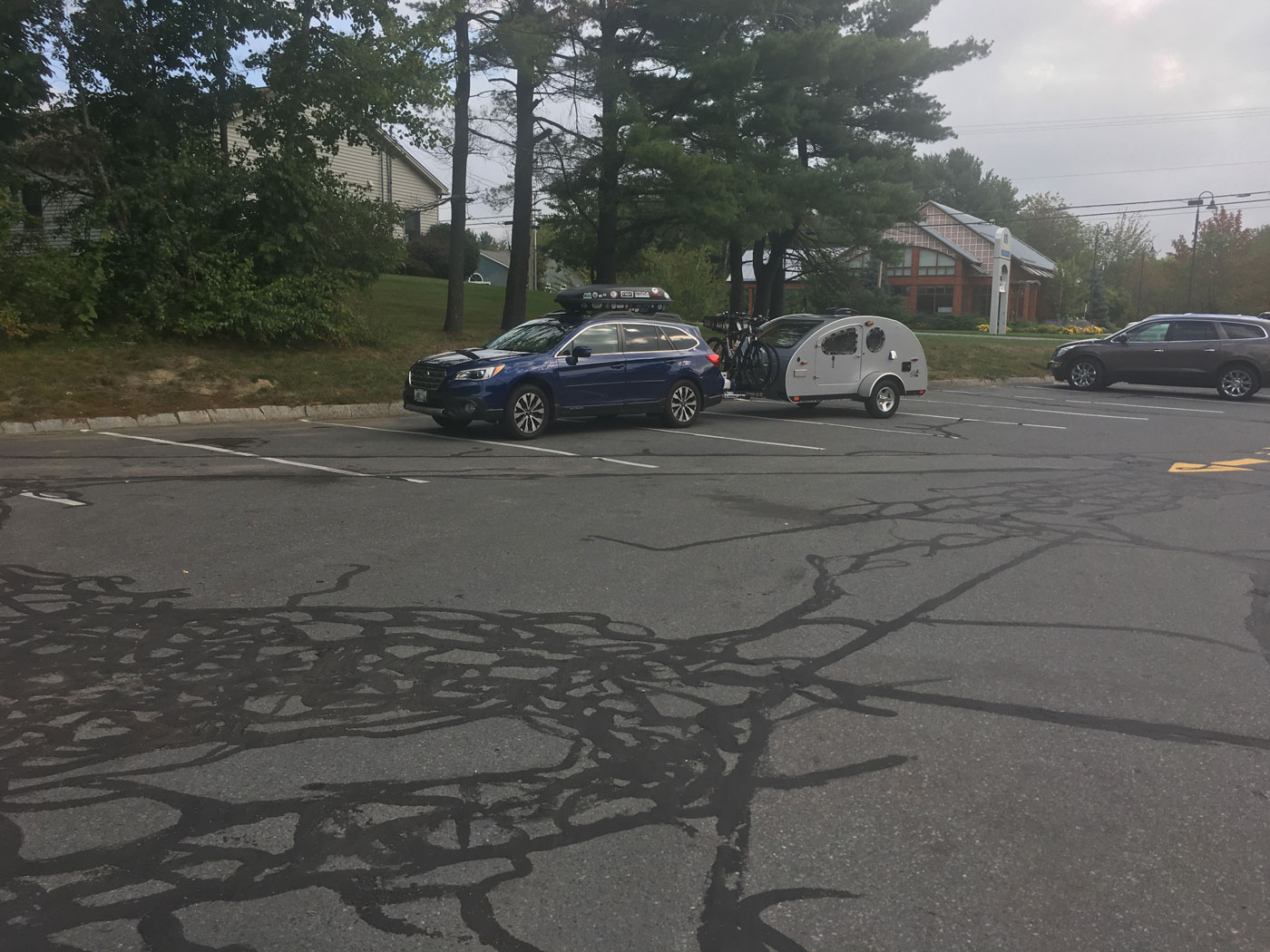 A roadside stop in Maine