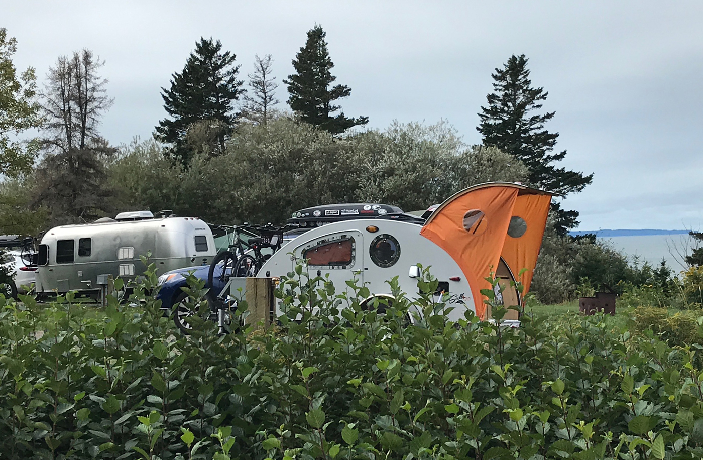 We were next to an Airstream