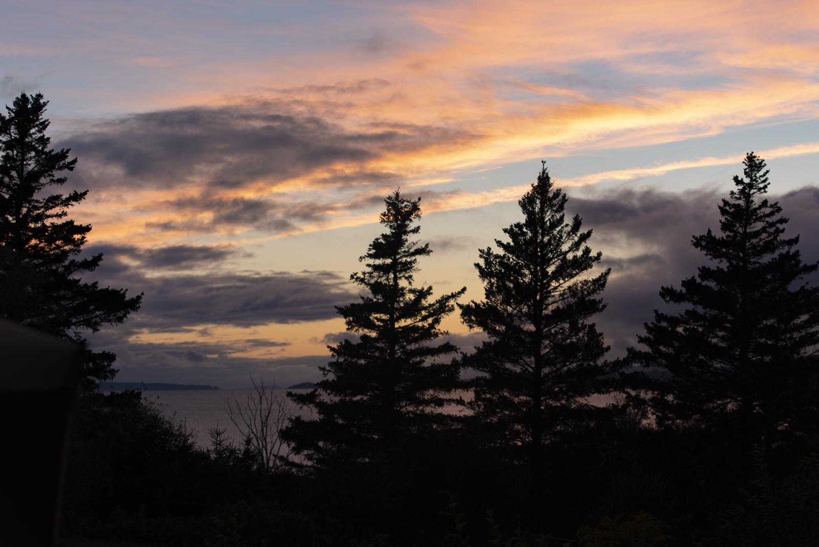 Even a sunset. . .
