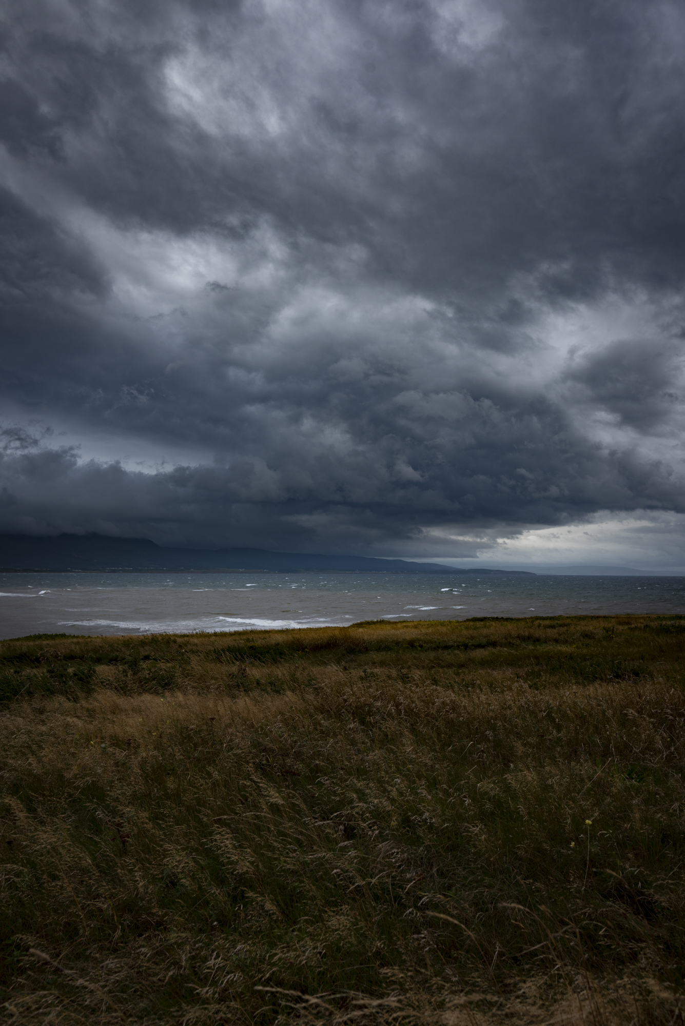 Storm clouds - Cheticamp Island