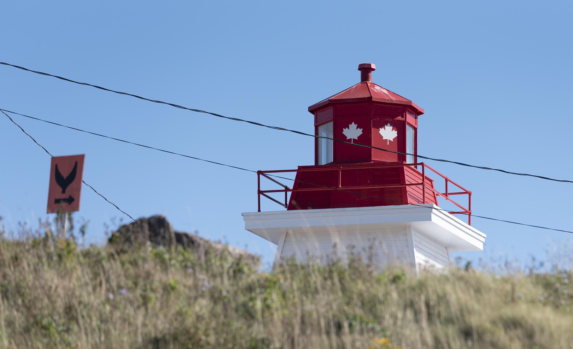Lighthouse in Neils Harbor