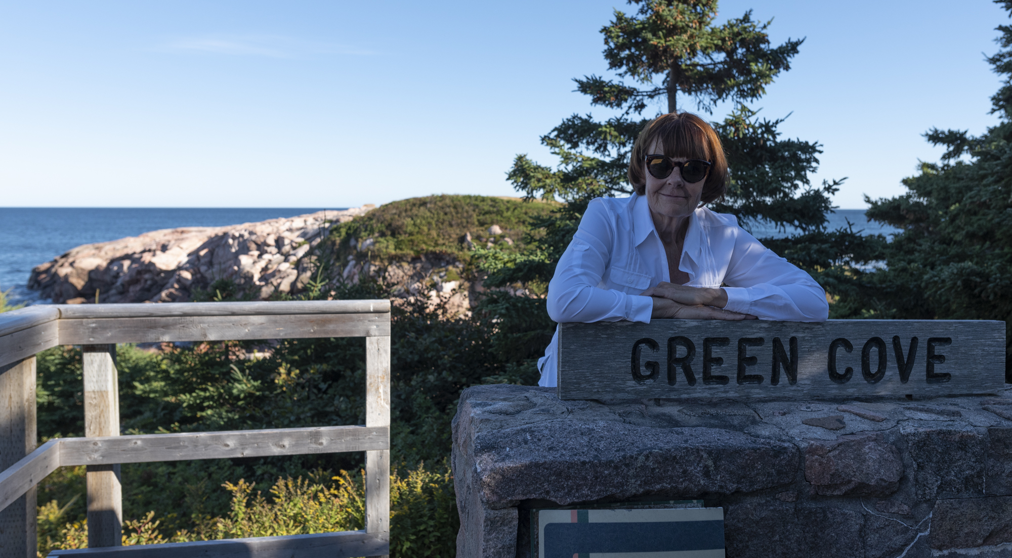 Green Cove, our final hike for the day. . .