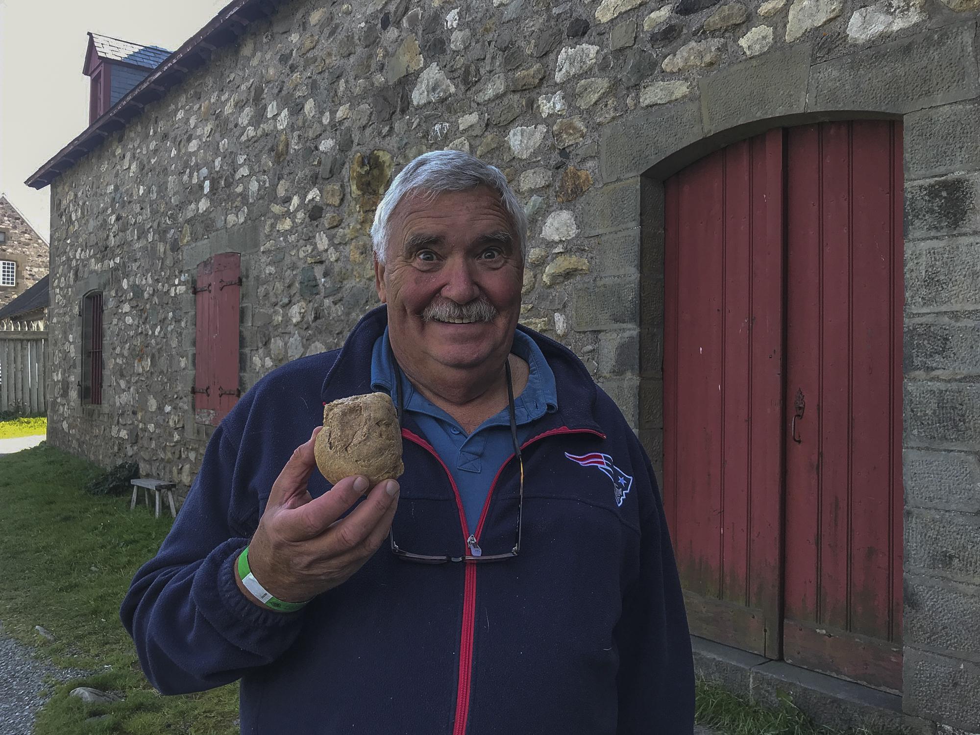 Eddie finds bread!!!