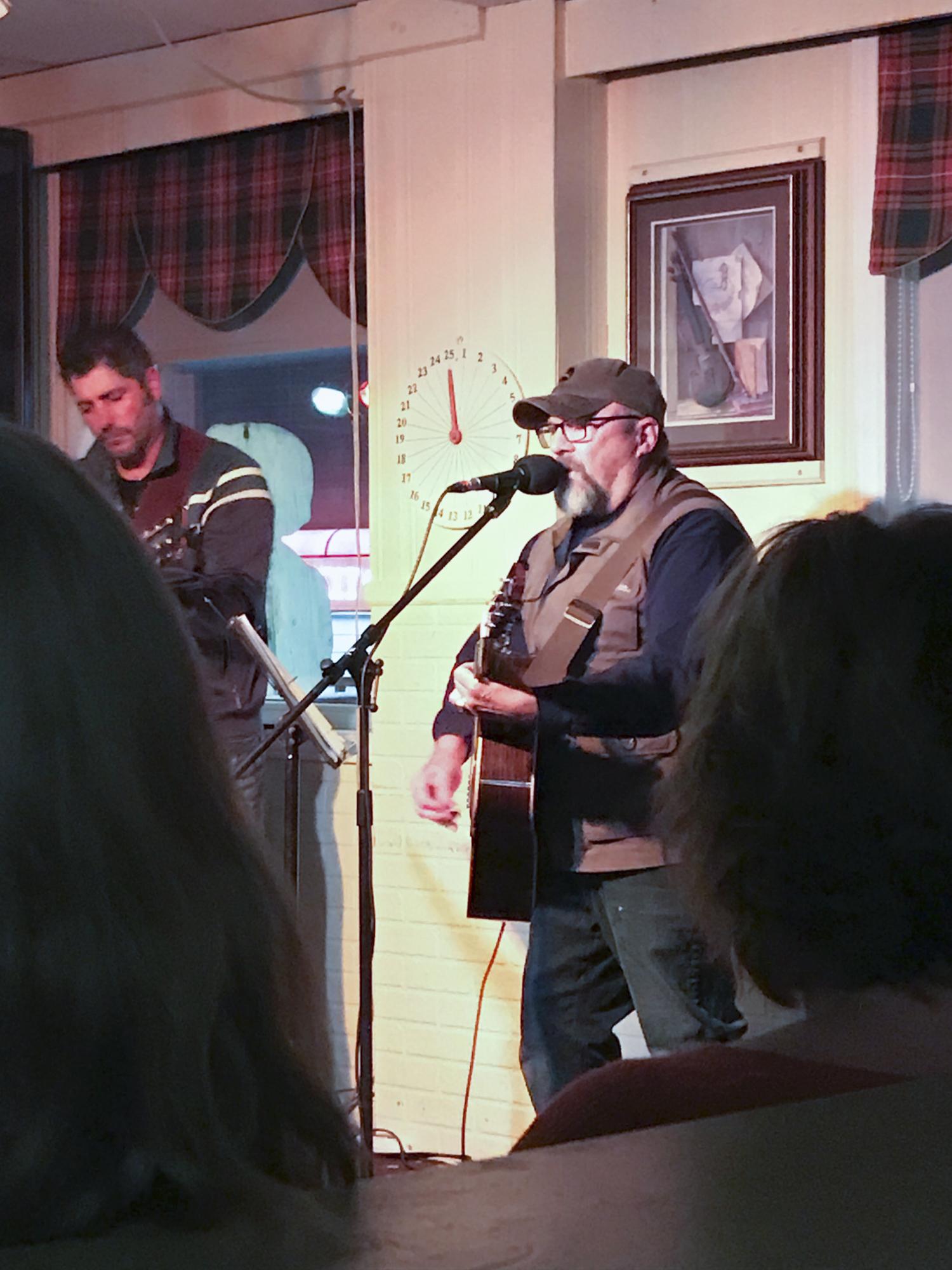 Local music again at a charming pub