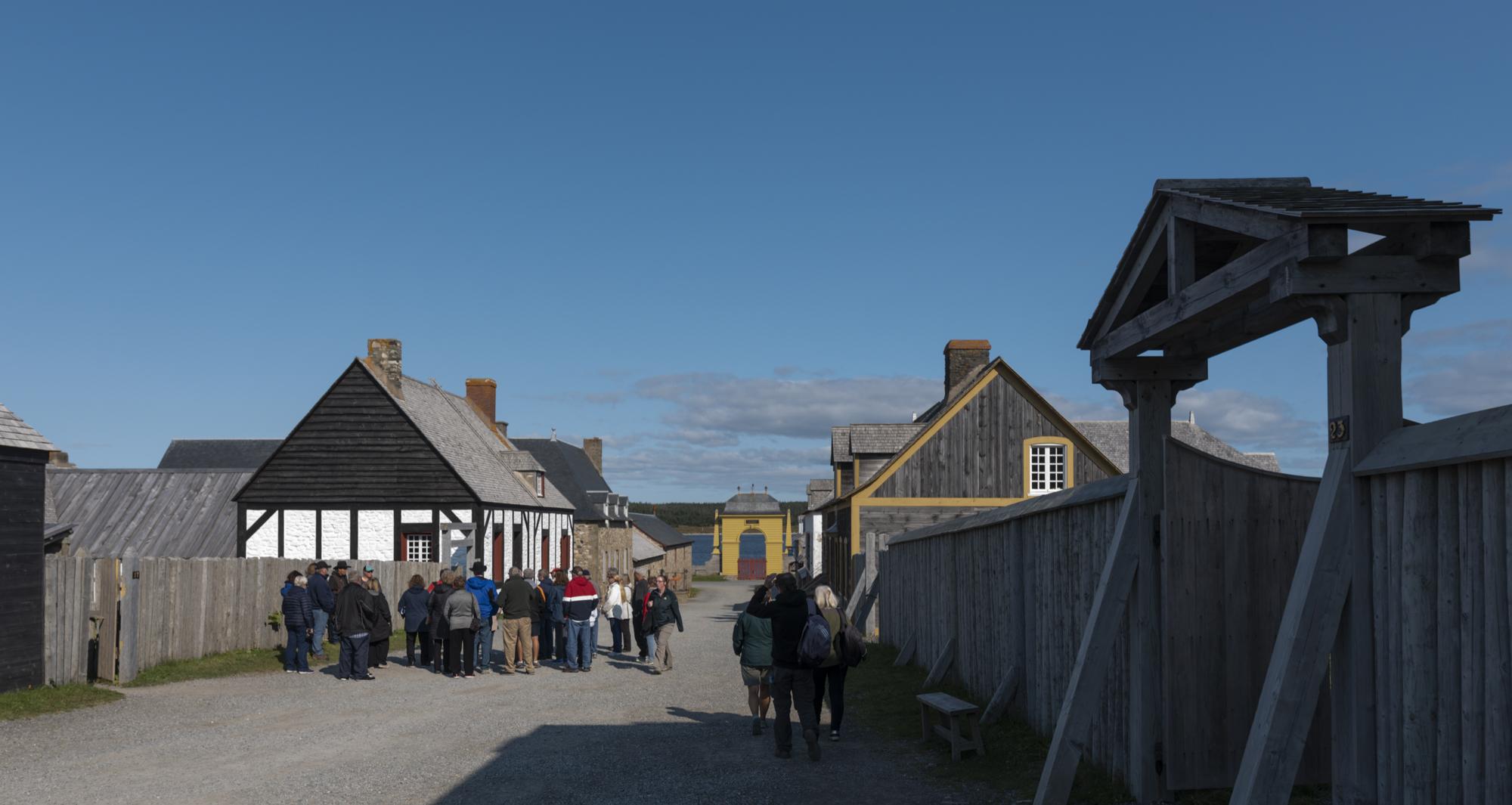 Main Street, old Louisbourg