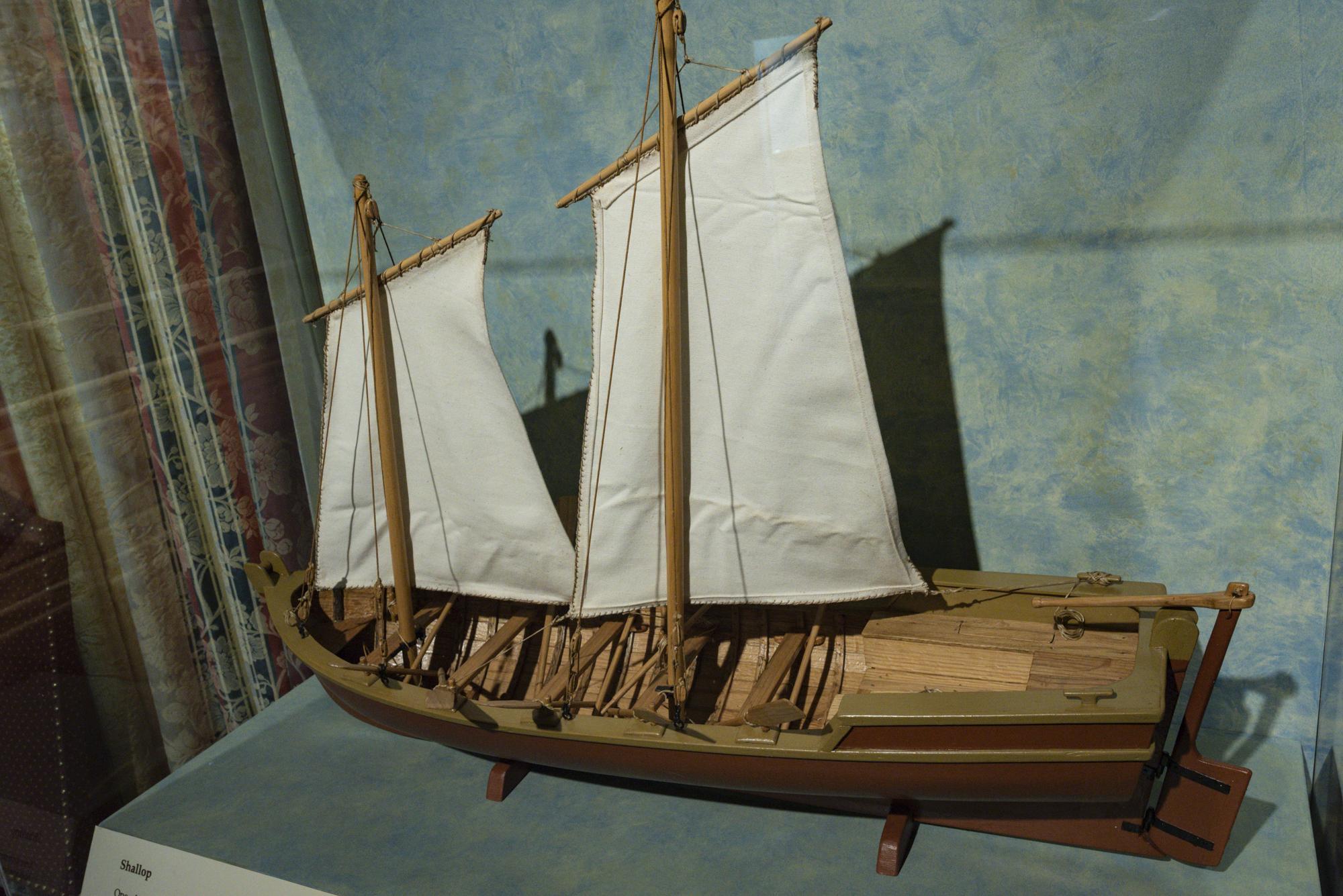 I love the model boats
