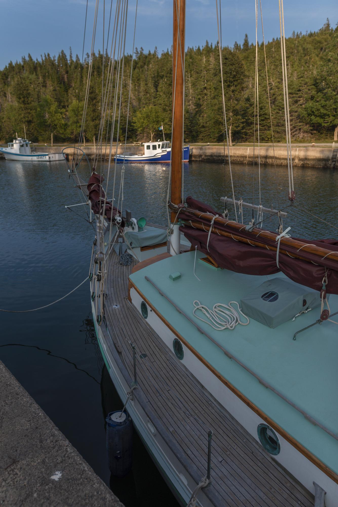 Beautiful sailboat..the Swiss guys. . .
