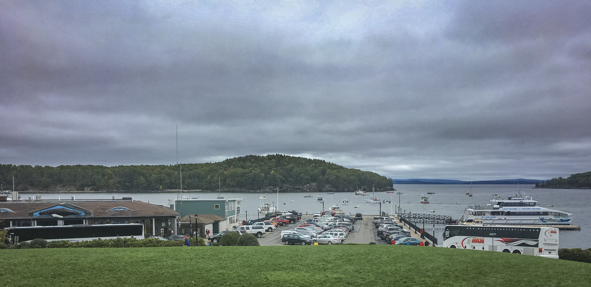 Bar Harbor, tourist city. . .