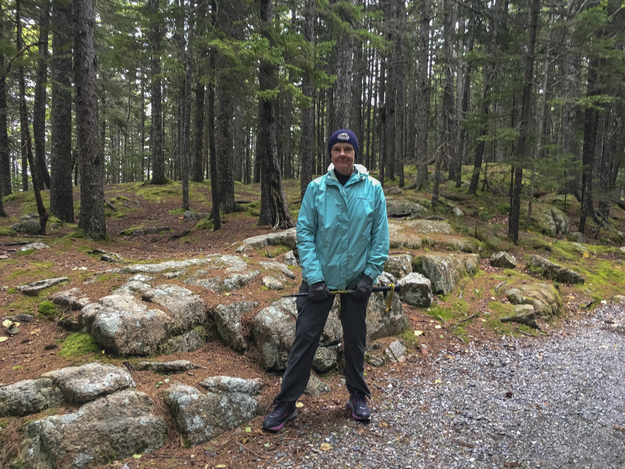 Hiking in Acadia NP