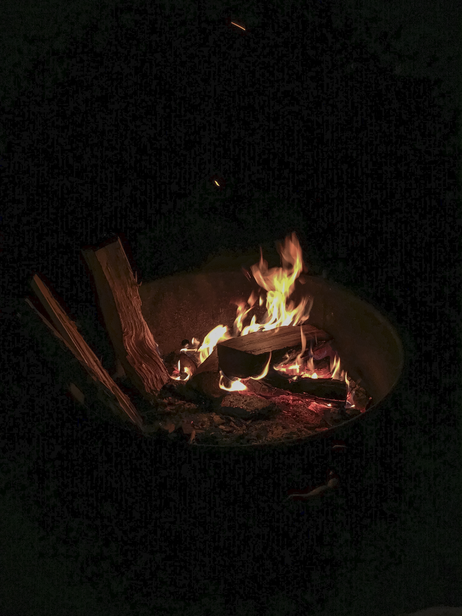Nothing quite like sitting around a campfire