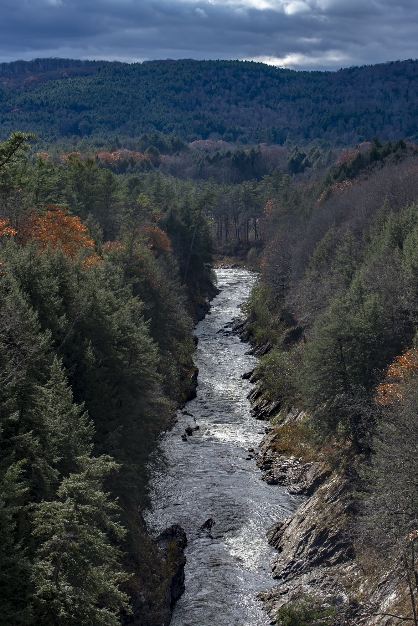 Gorge from the bridge