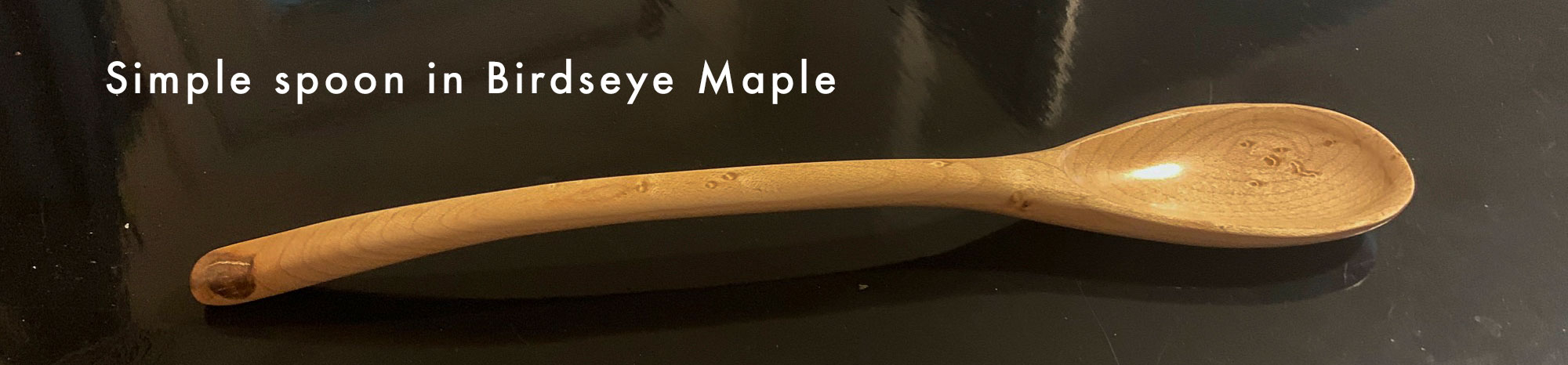 Made from a scrap of Birdseye Maple from a cabinet I made