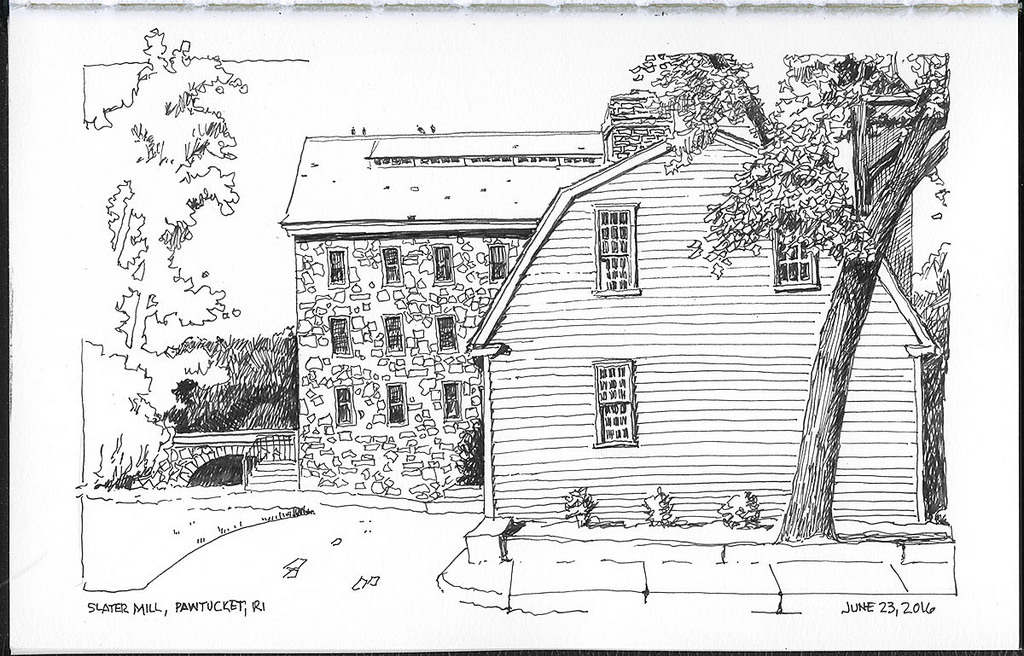 Slater Mill, Pawtucket, RI