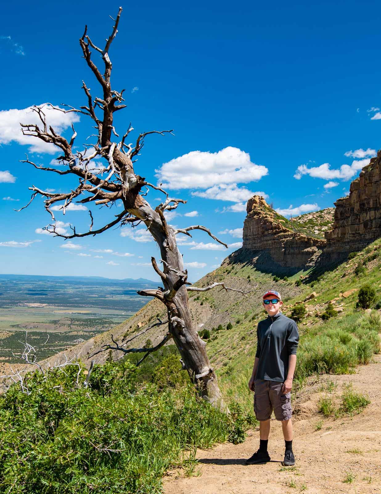 Montezuma overlook Mesa Verde