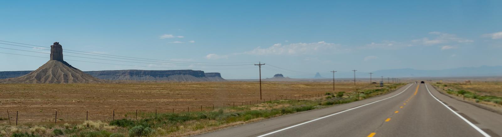 Fantastic highway scenery