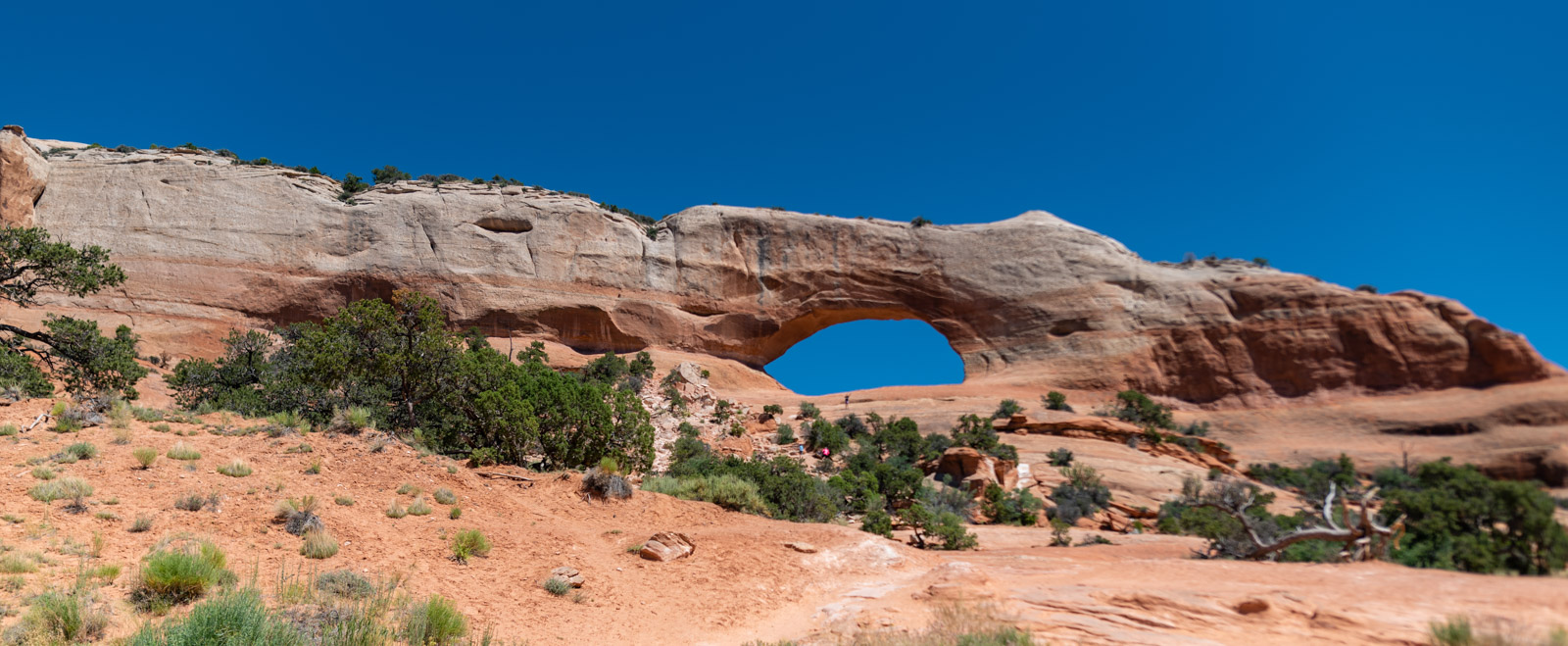 Wilson Arch, just south of Moab