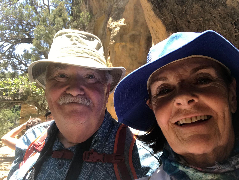 Old folks selfie