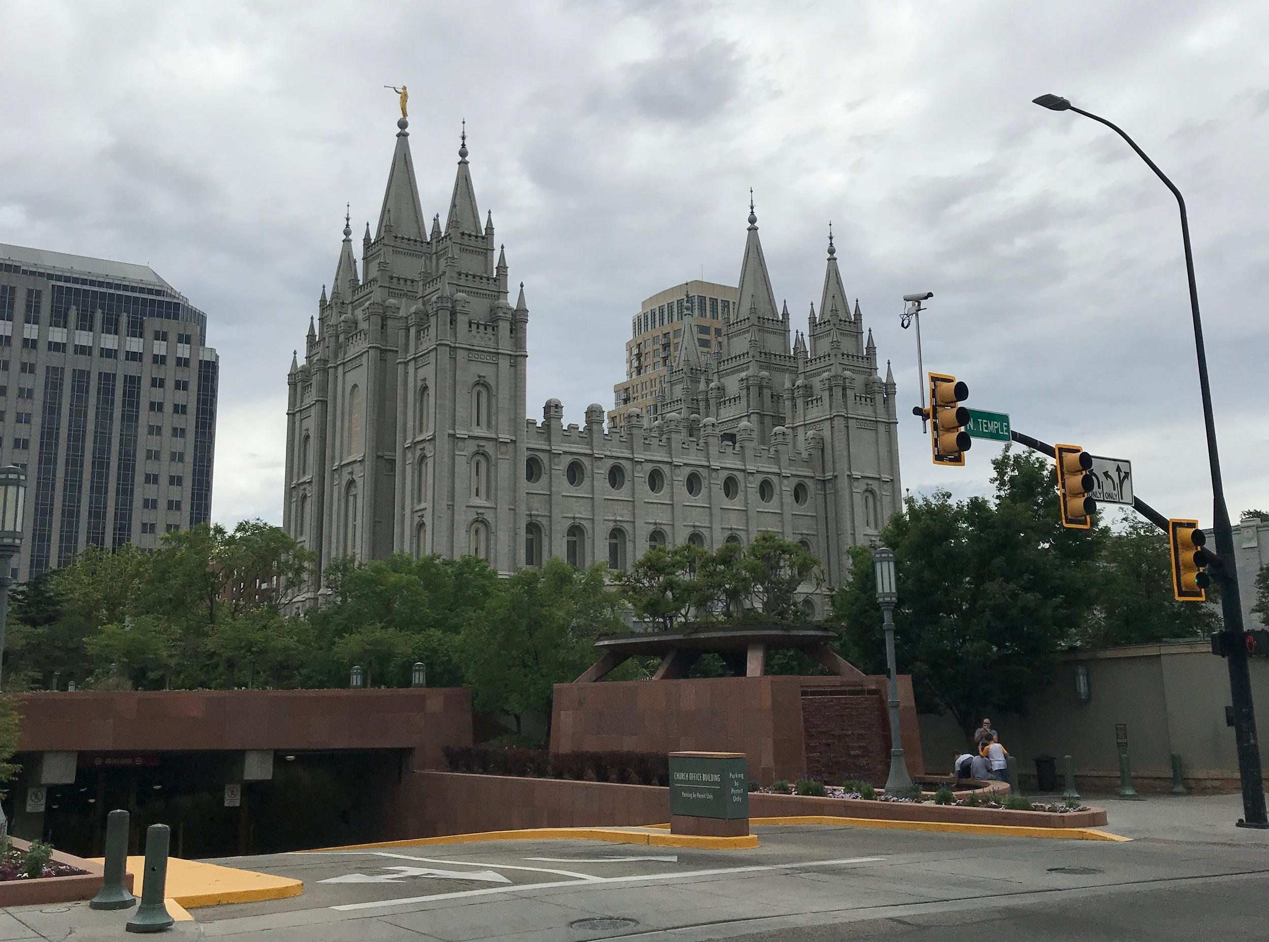 Morman Temple, Slat Lake City