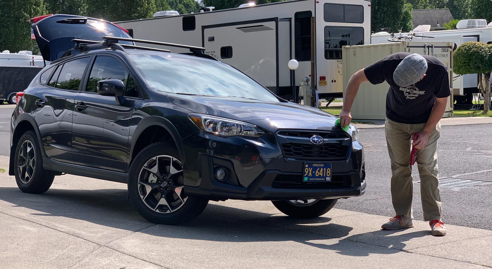 Jason got a new Subaru Crosstrek