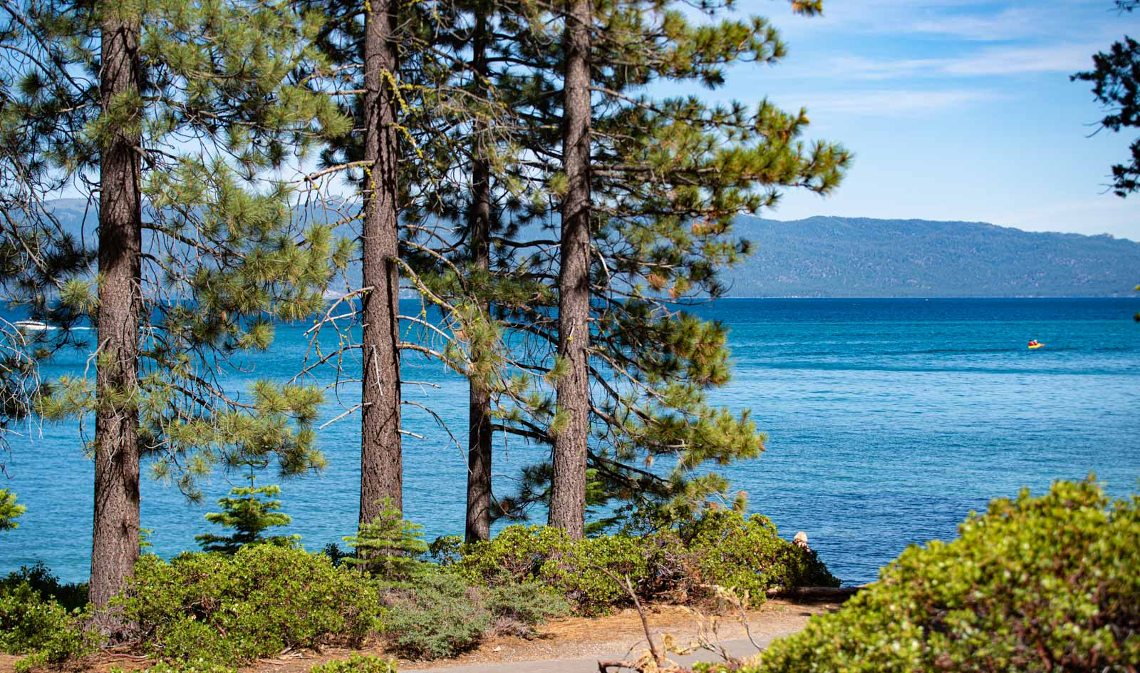 What a beautiful place, Lake Tahoe.