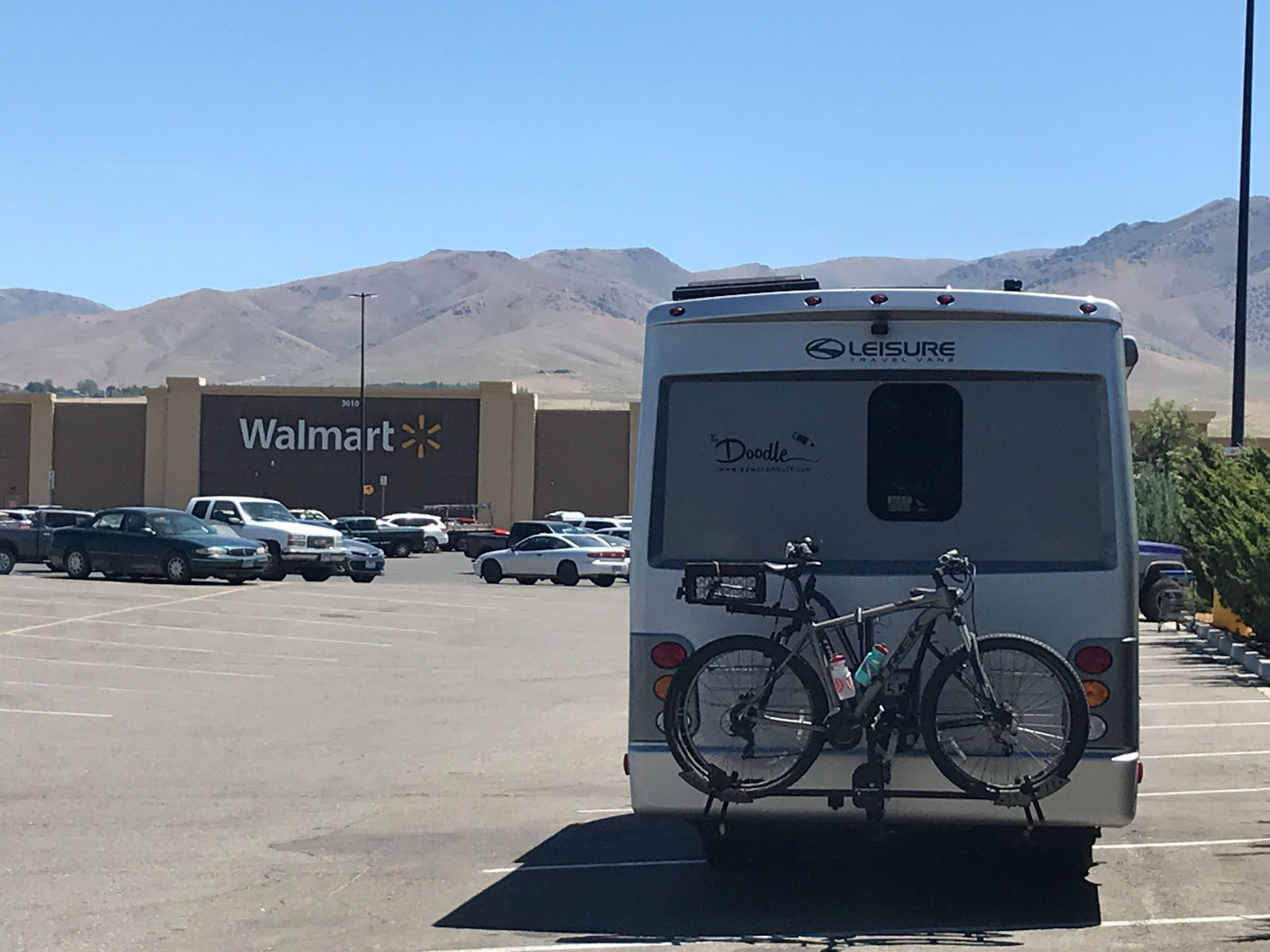 Walmart, there is always a Walmart. . .