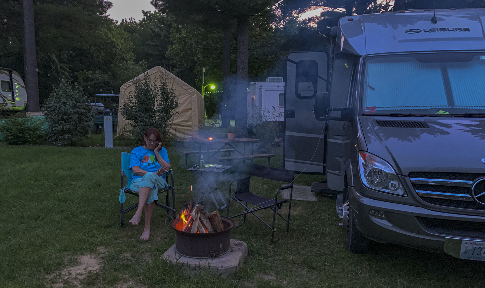Elkhart campfire