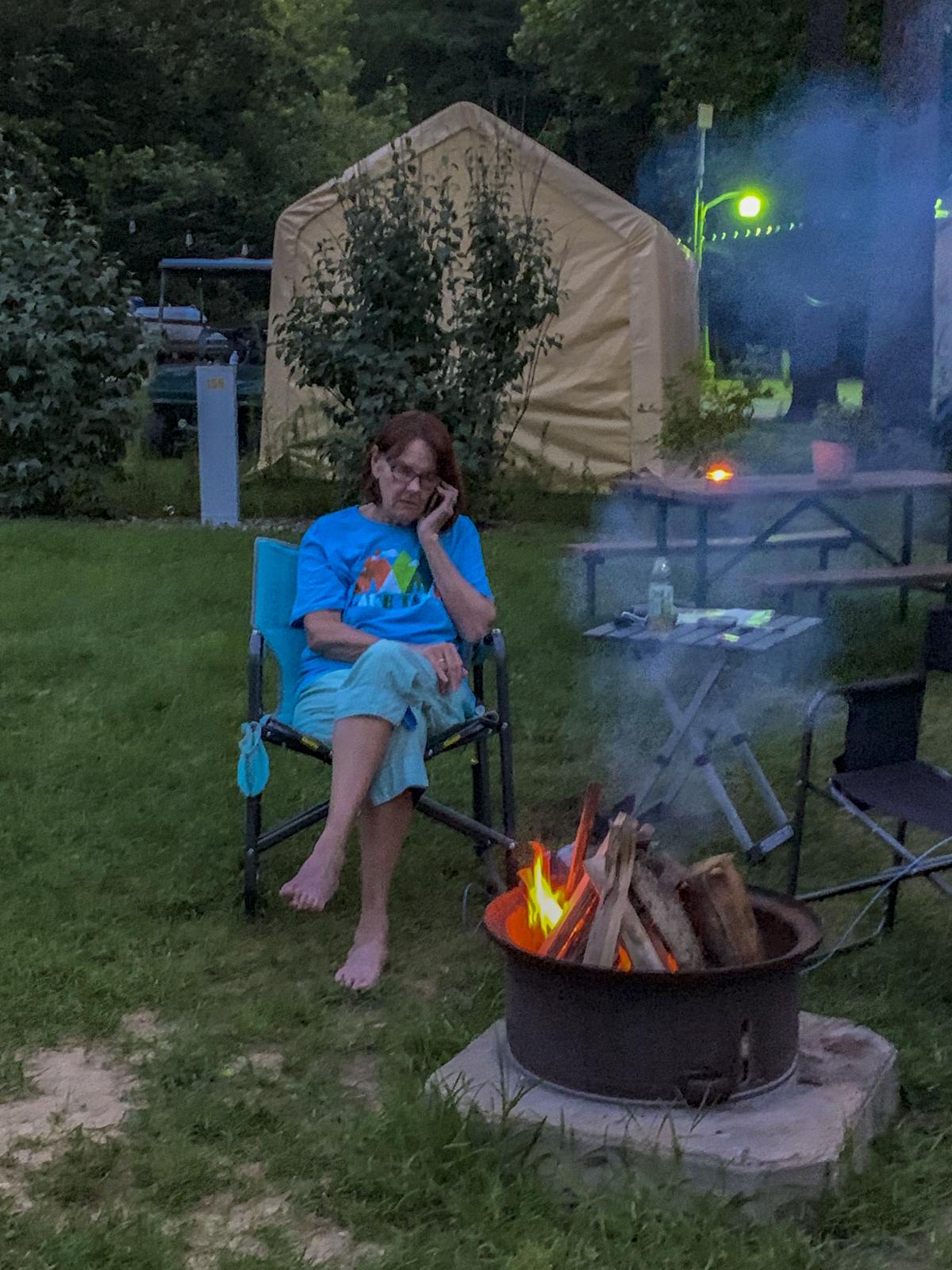 Camping in Pajamas