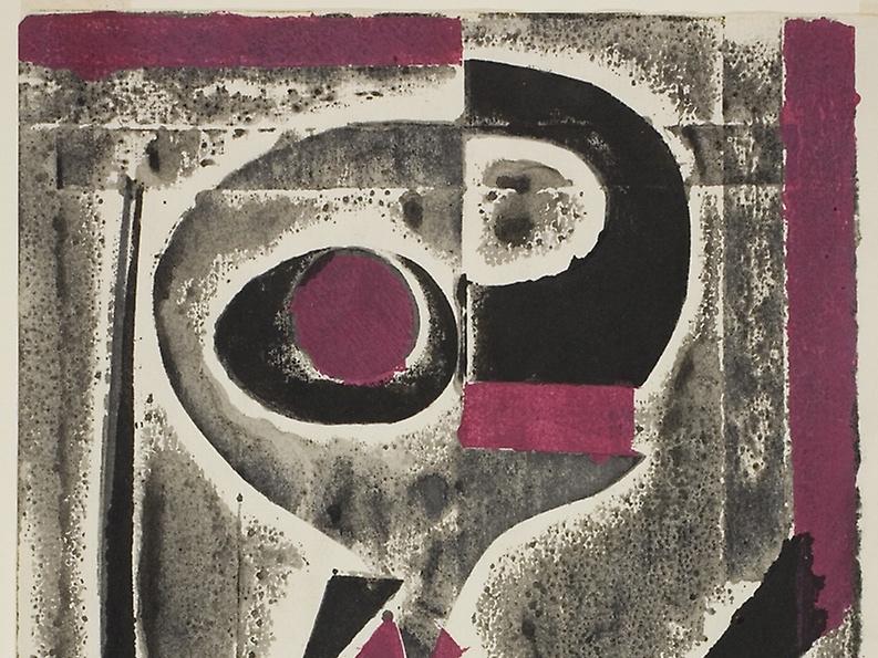 """Ben'o, Ito. """"Abstract."""" 20th century."""