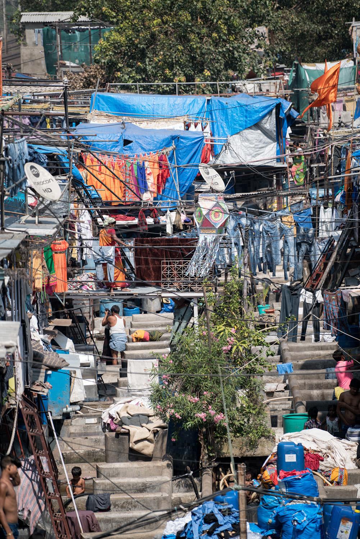 Laundry District #2 - Mumbai, India - 2016