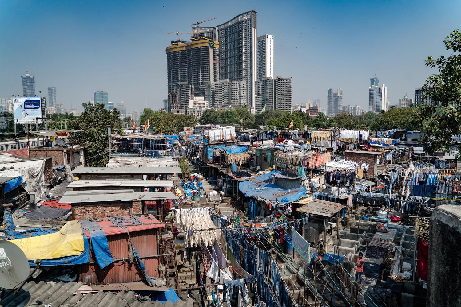 Laundry District #1 - Mumbai, India -2016