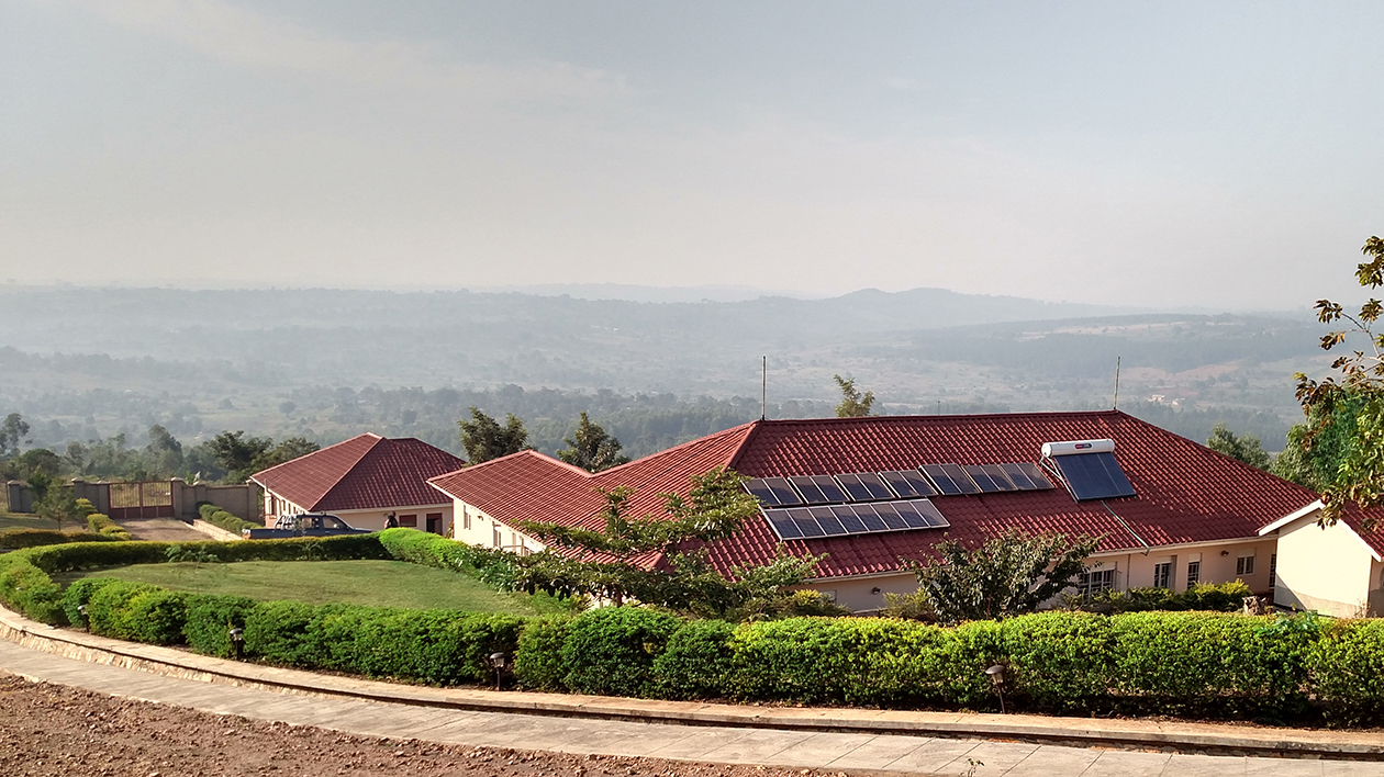 Graceland is running GREEN energy.  The homes are powered by Solar Power. The New Hope Medical Centre is 100% Solar powered also. The water for Graceland comes from our own well.