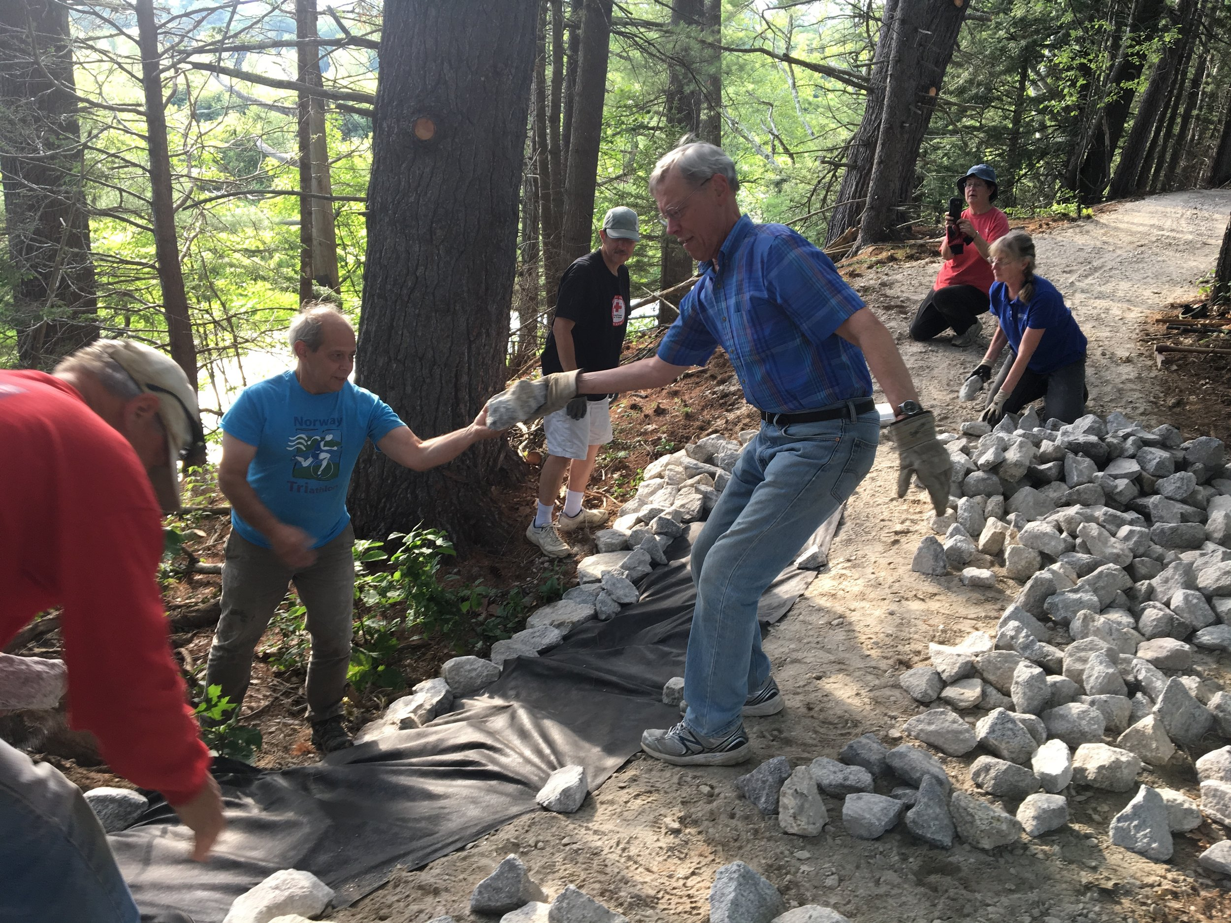 Volunteer - Meet new friends while you help Mahoosuc Land Trust build and maintain trails, monitor properties or update databases. All ages and ability levels are welcome!