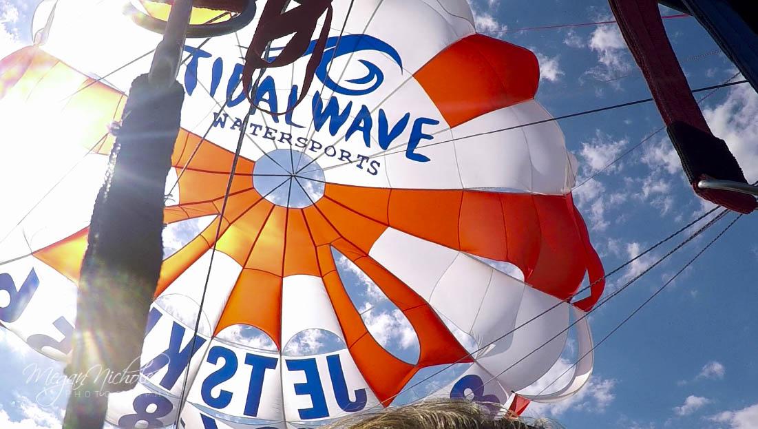 tidal wave parasailing