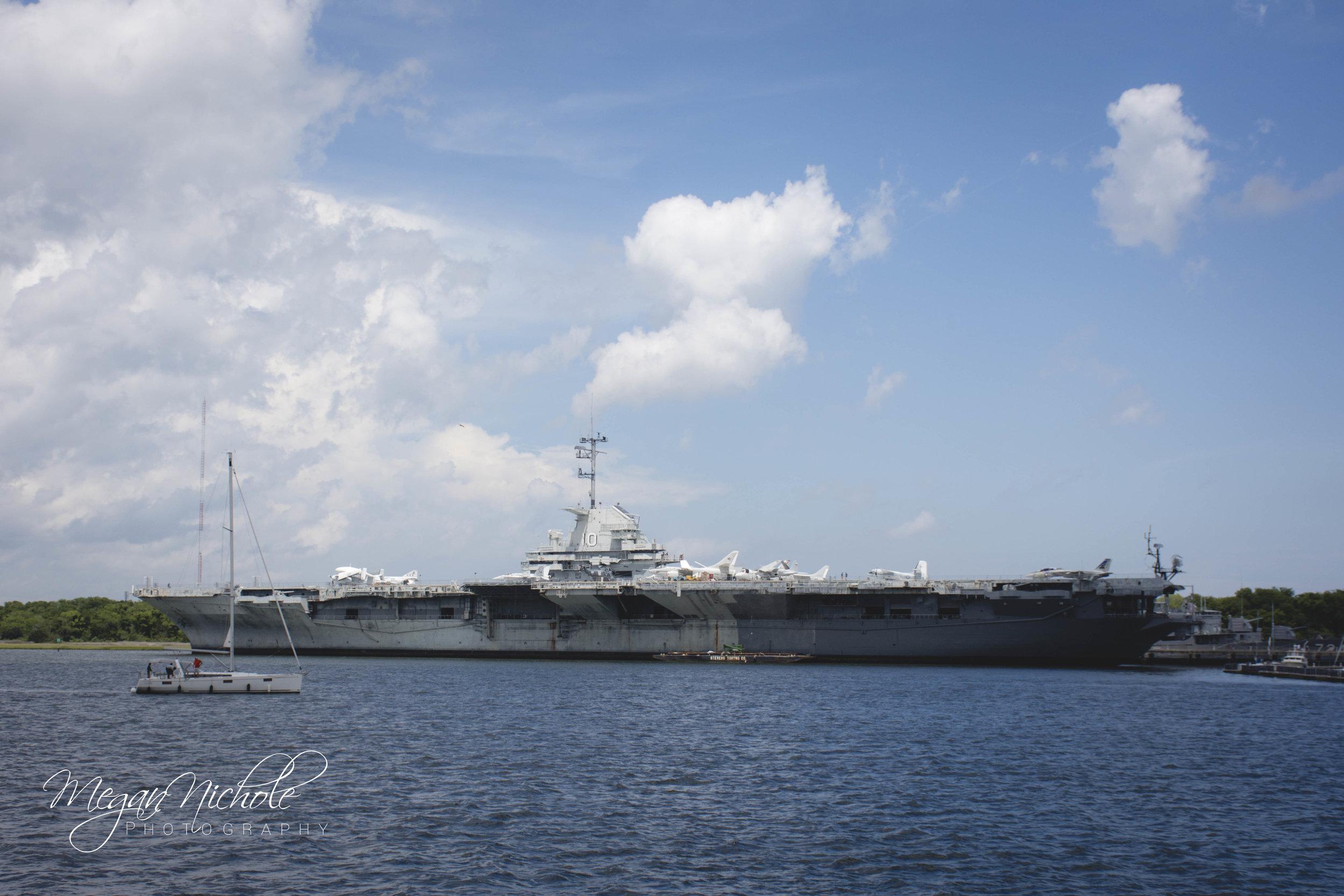 Charleston, South Carolina Patriot's Point USS Yorktown