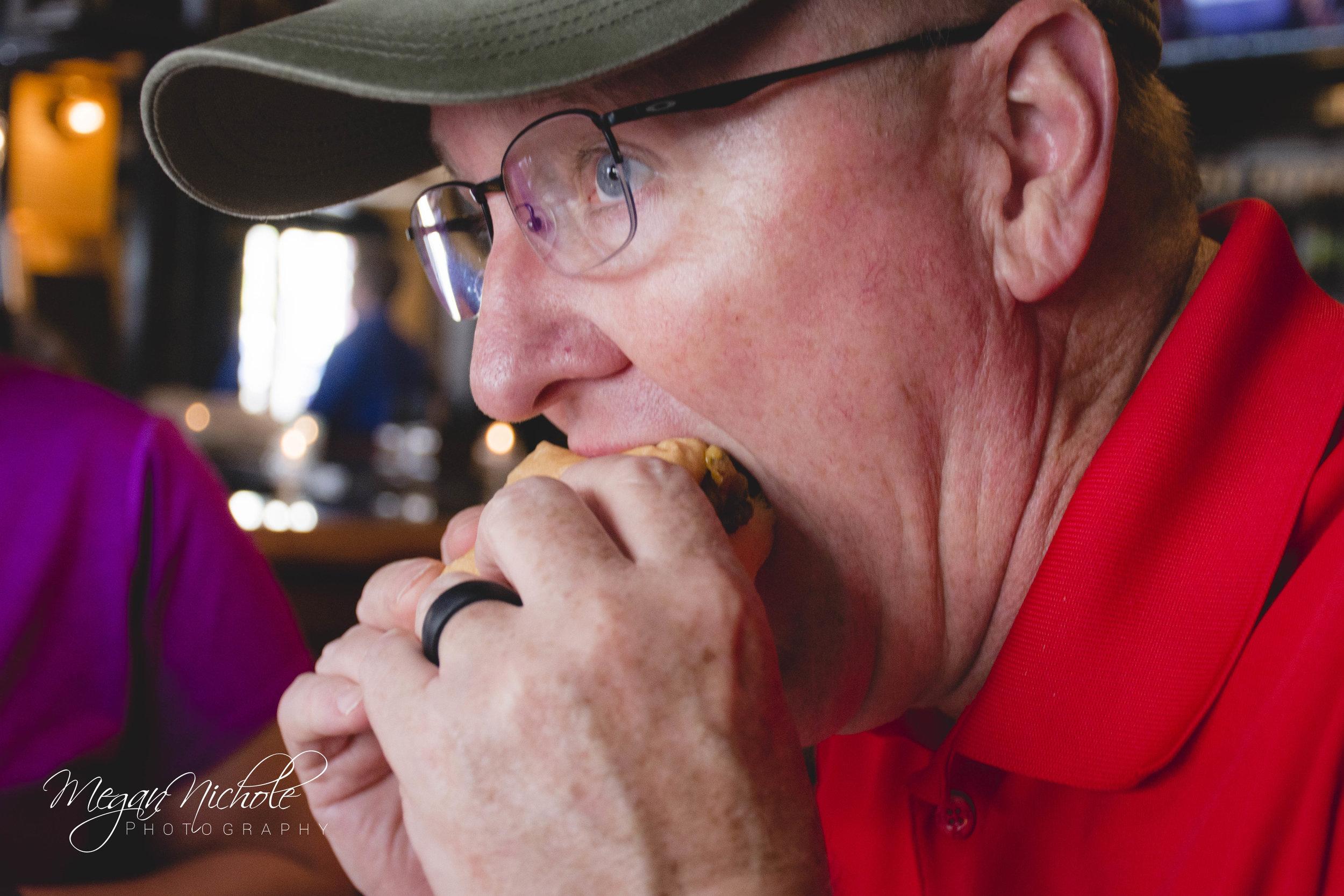Henry's Charleston cheeseburger