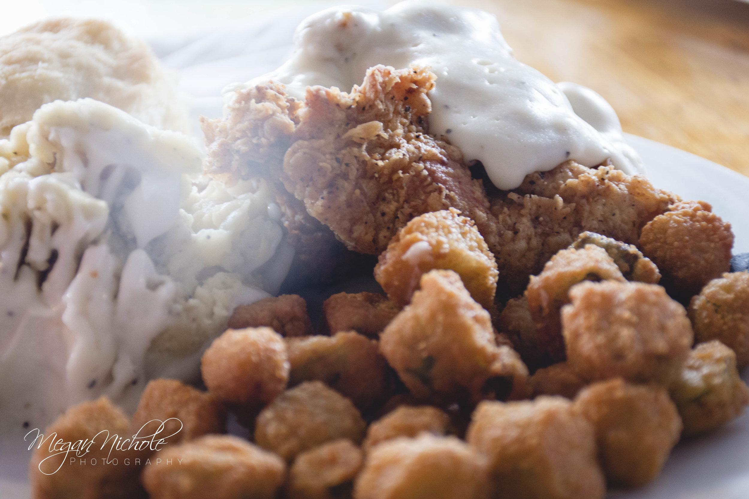 Page's Okra Grill fried okra