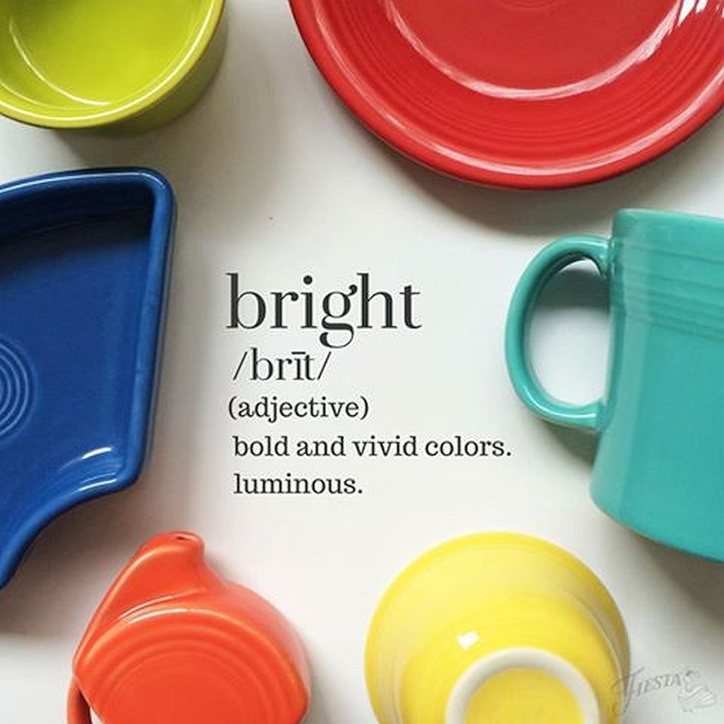 Fiesta Dinnerware  - These dishes merge bold and vivid colors for a presentation suitable for every occasion. This collection's famous colors coordinate perfectly together to create dinnerware sets all your own.