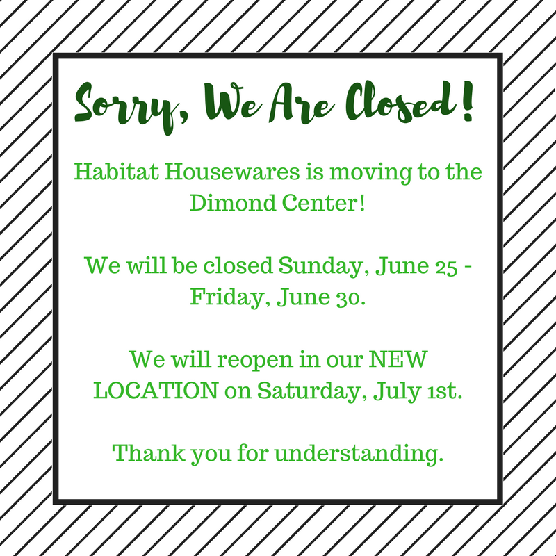 If you need immediate assistance, please call or email us at:  907-561-1856 or info@habitathousewares.com