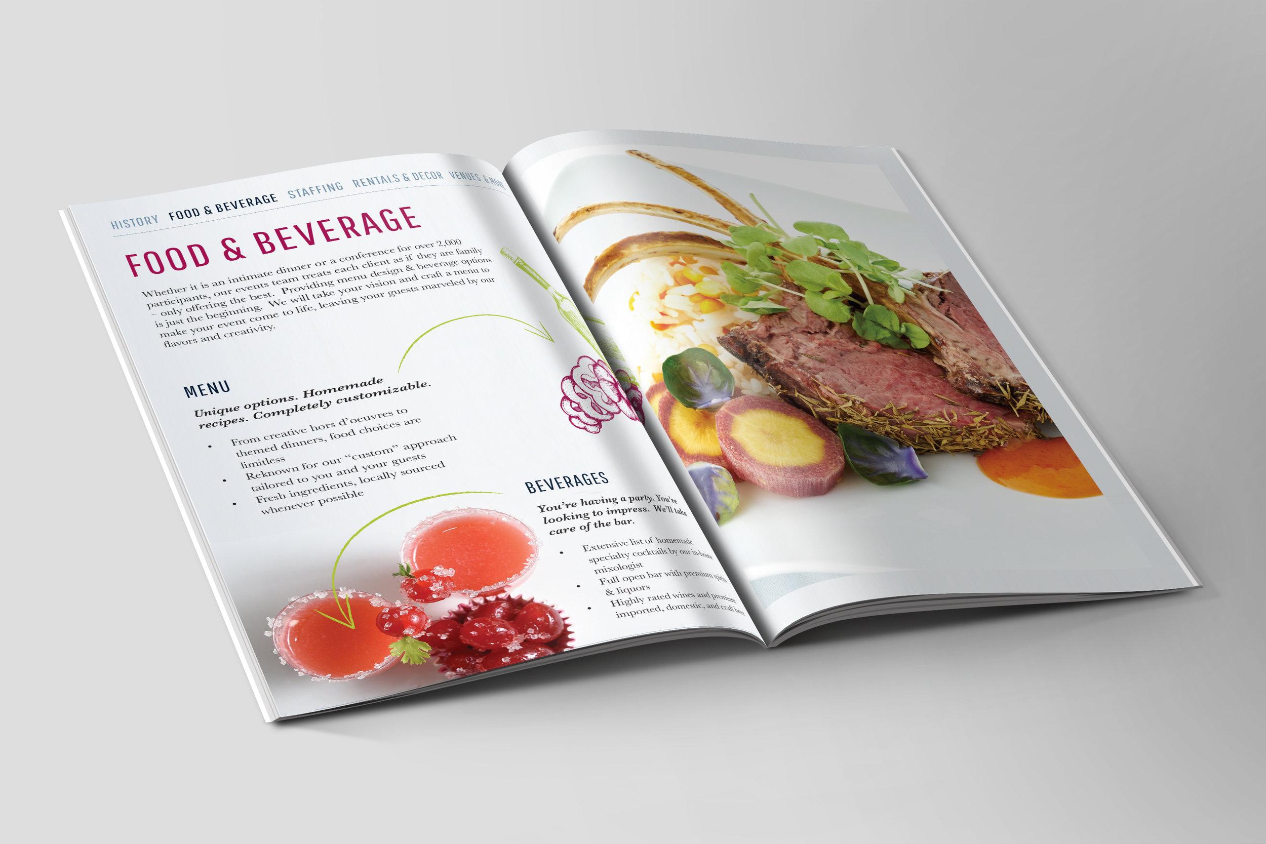 Special Events Brochure Spread