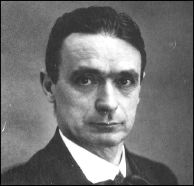 Rudolf Steiner.