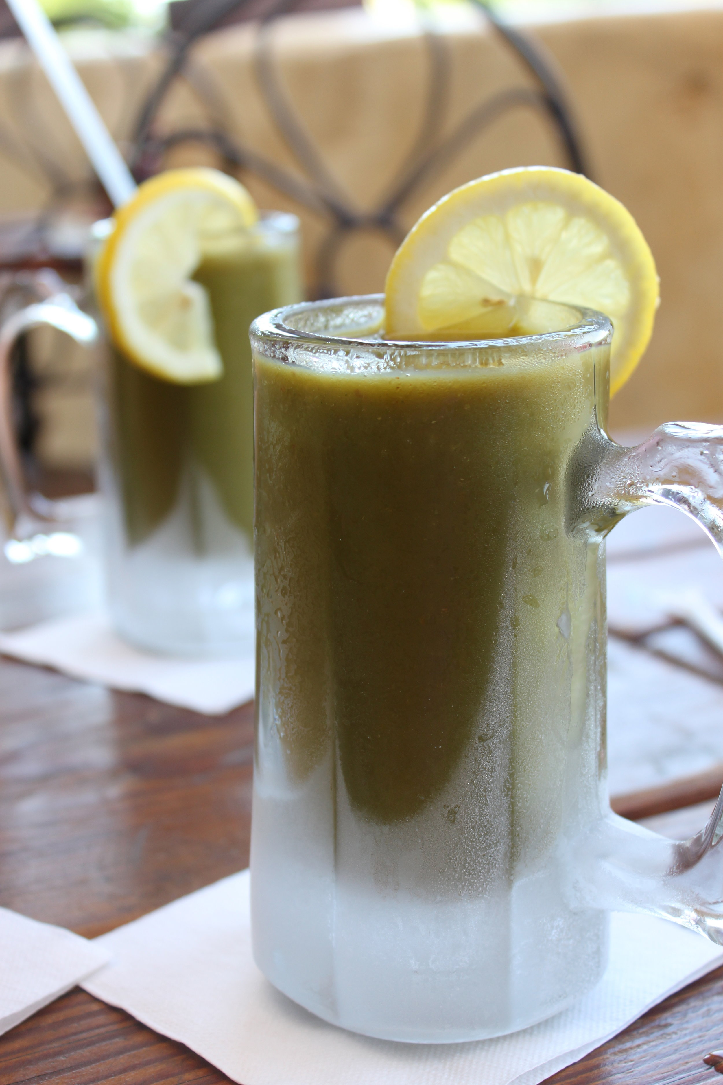 Yellow Deli Green Drink