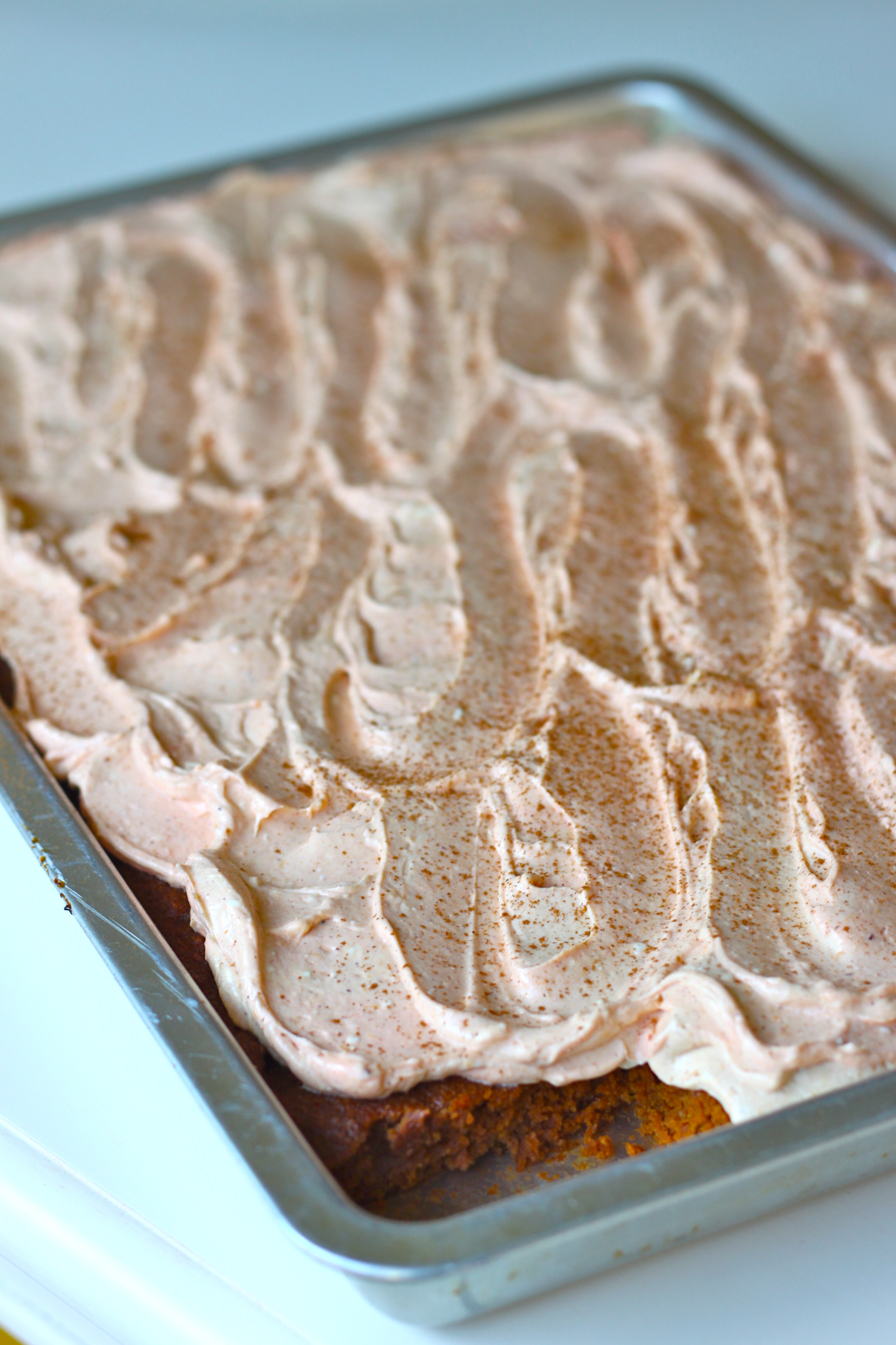 Pumpkin Spice Bars from The Diva Dish