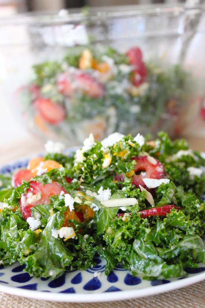 Citrus Spring Kale Salad